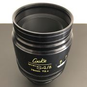 pre-owned Cooke MiniS4 set of 6 lenses in meter scales